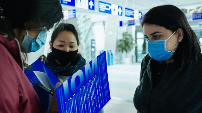 МОМ помогла кыргызским мигрантам вернуться домой