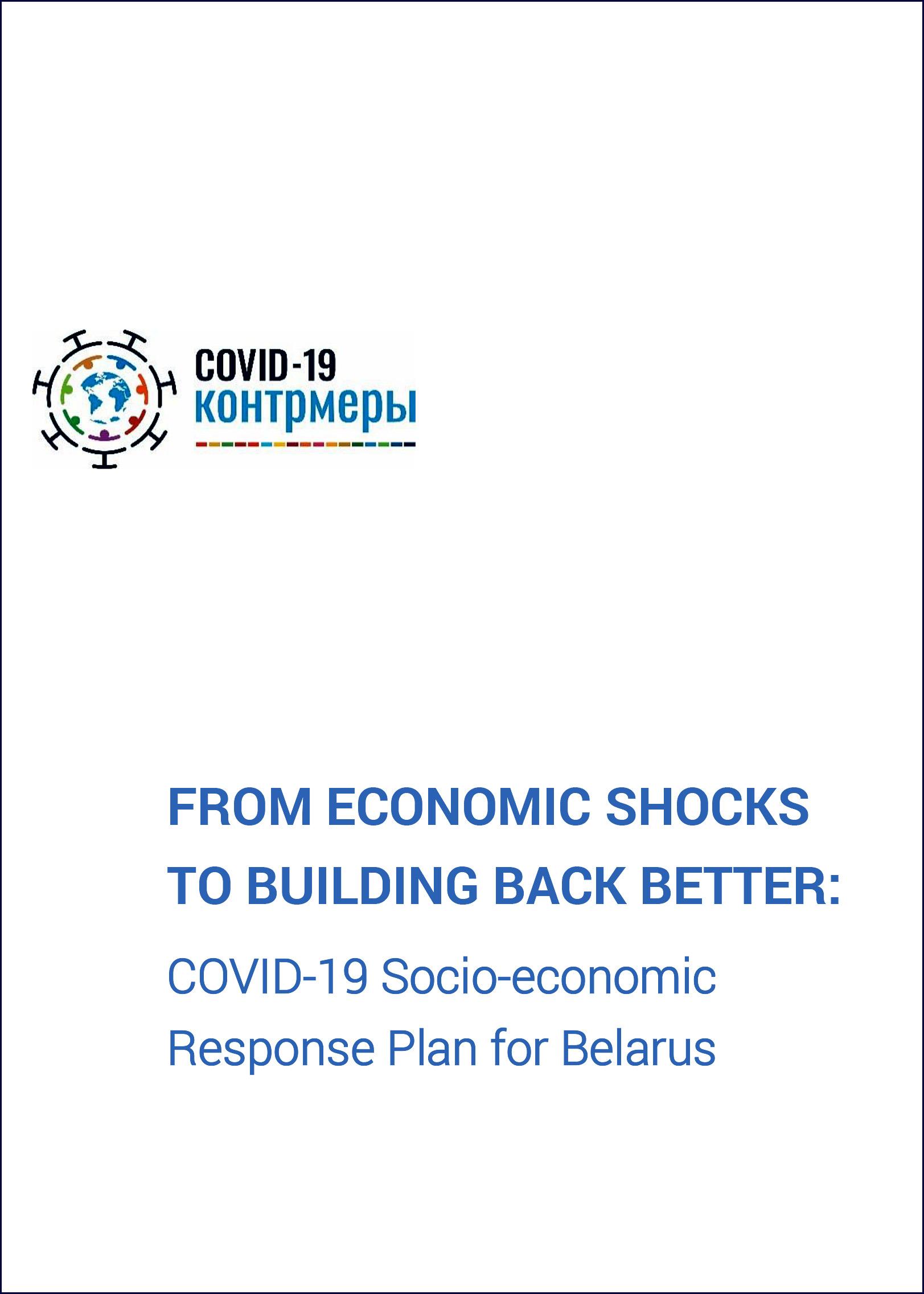 UNCT Belarus' COVID-19 Socioeconomic Response Plan (SERP): Achievements and Plans