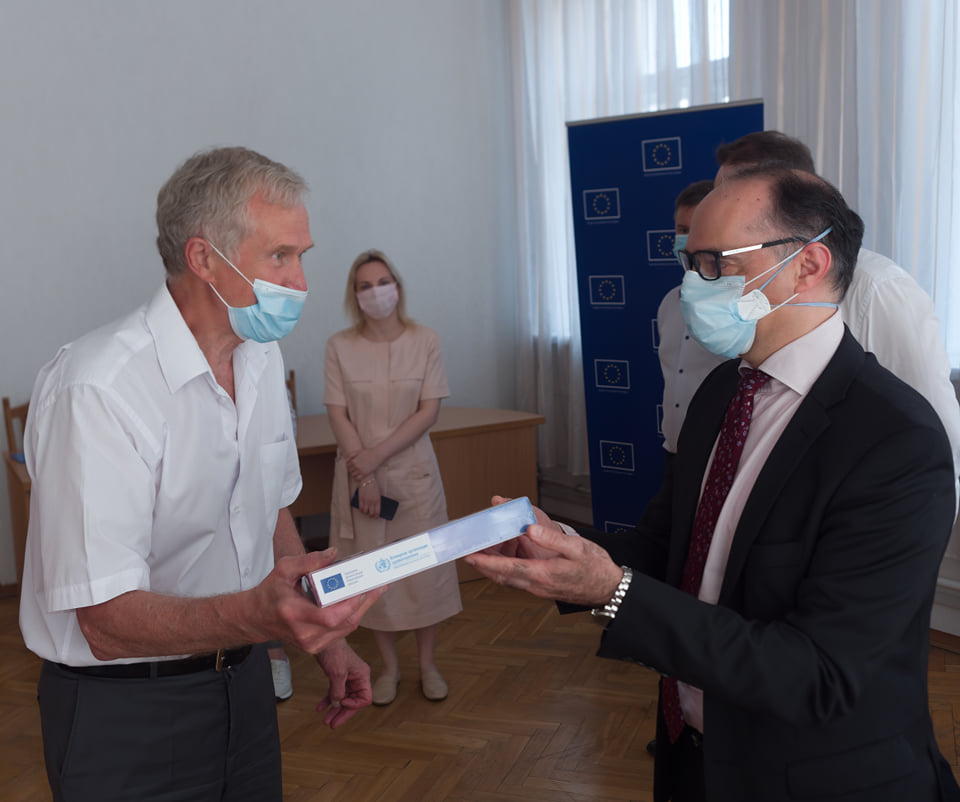 Tablets delivery was a part of the joint EU and WHO Solidarity for Health Initiative funded by the European Union.