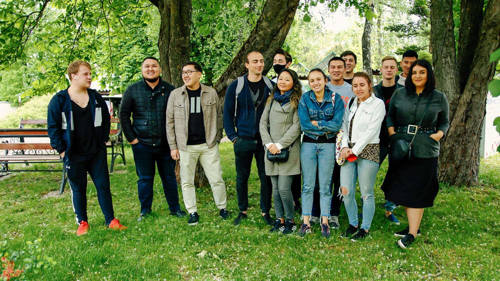 Due to COVID -19 pandemic 14 young Kyrgyz guides found themselves without work