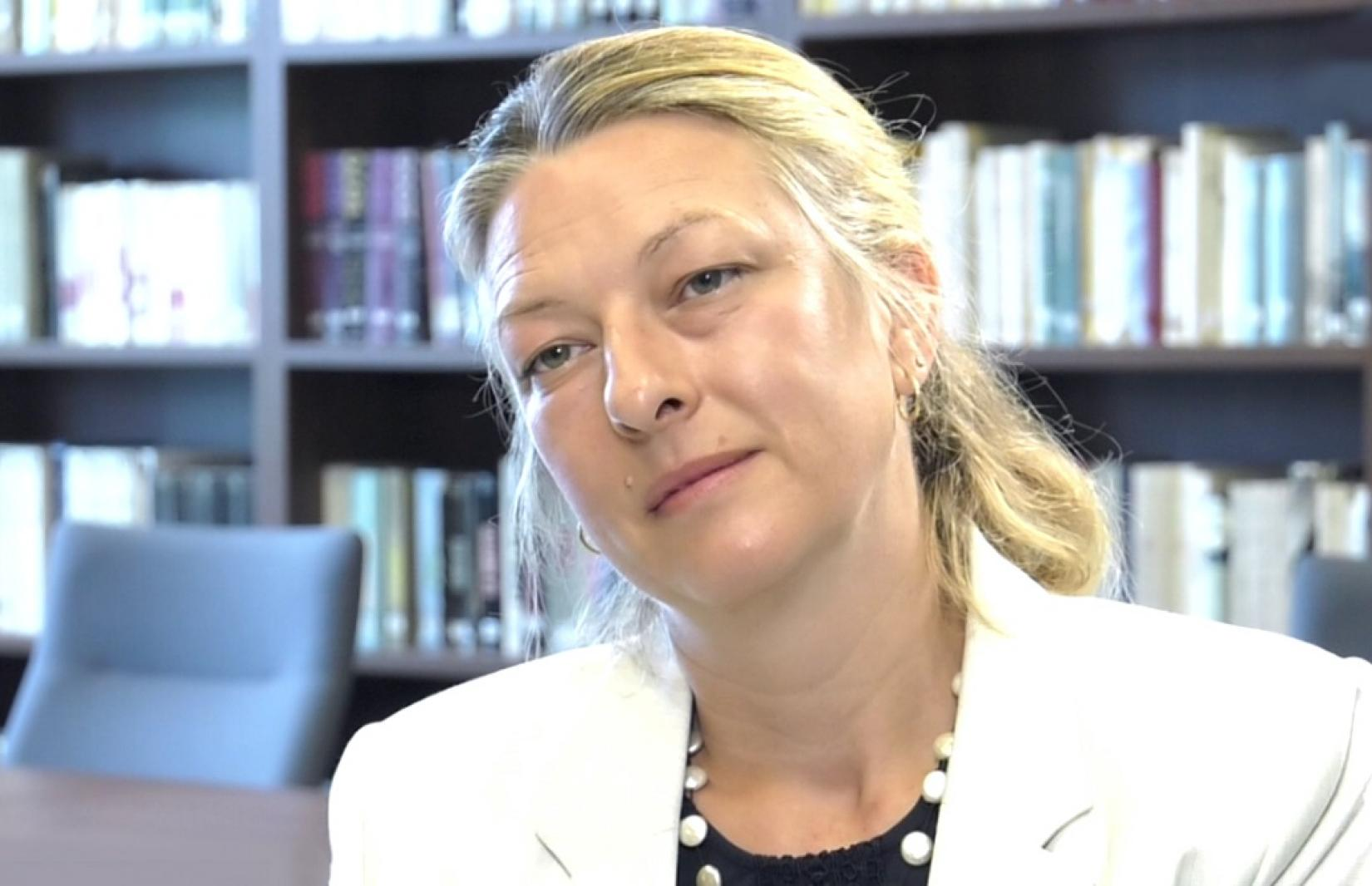 Anaïs Marin, UN Special Rapporteur on the situation of human rights in Belarus